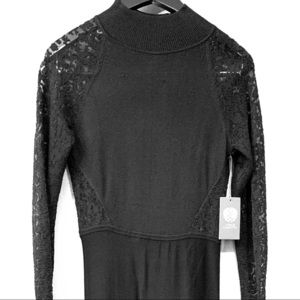 Never worn, lace VC dress.